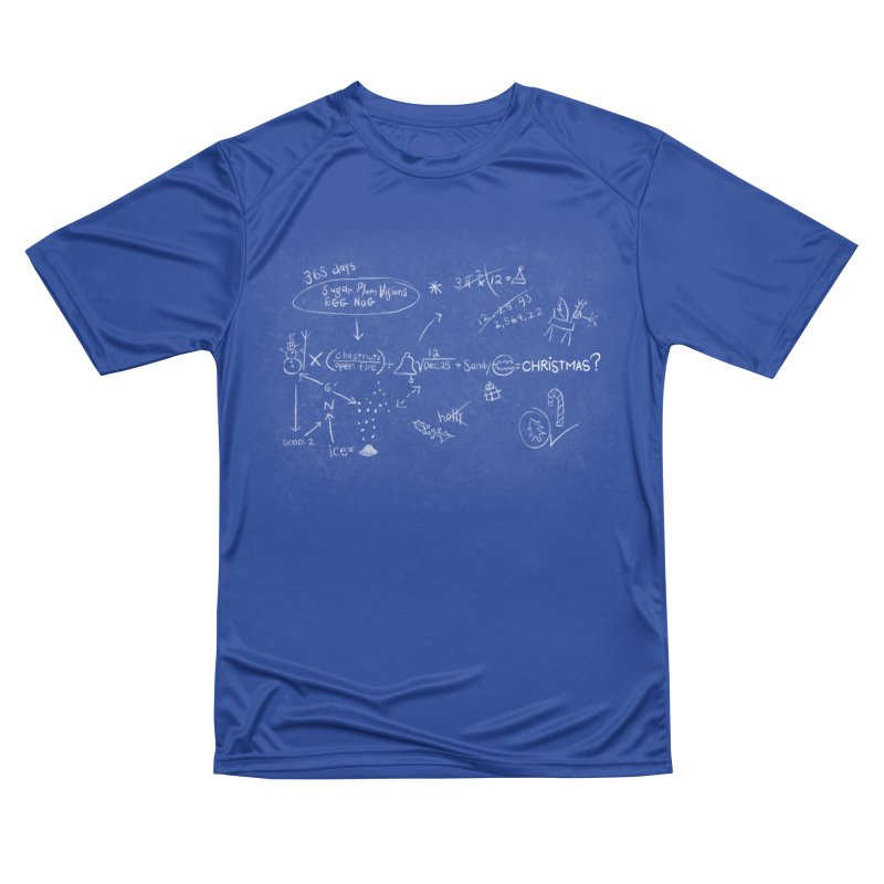 Christmas Equation Women's Performance Unisex T-Shirt by 9th Mountain Threads