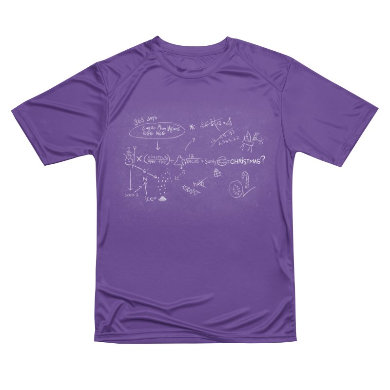 Christmas Equation Men's Performance T-Shirt by 9th Mountain Threads