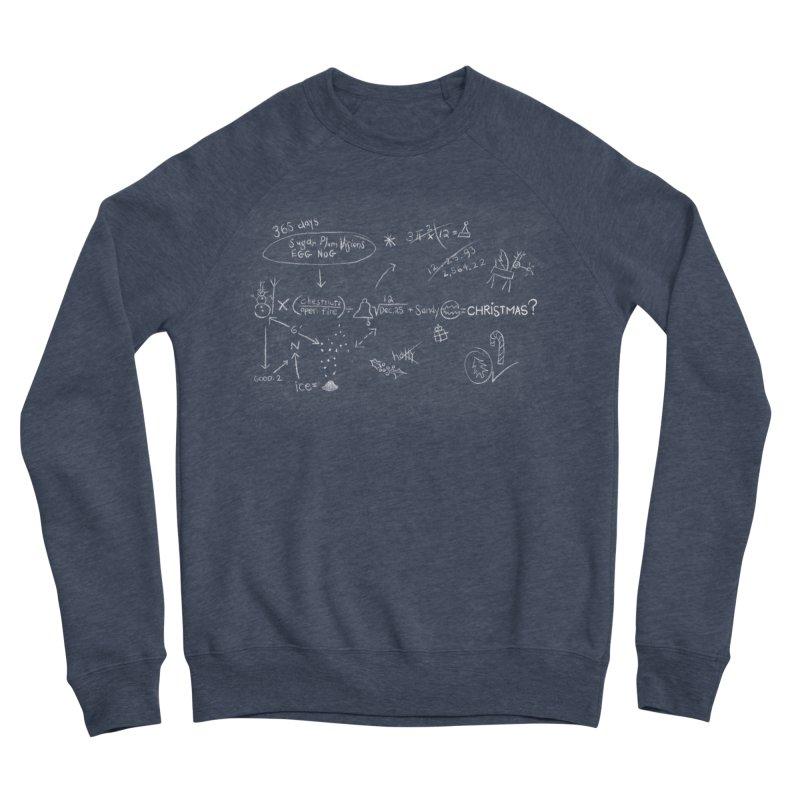 Christmas Equation Women's Sponge Fleece Sweatshirt by 9th Mountain Threads