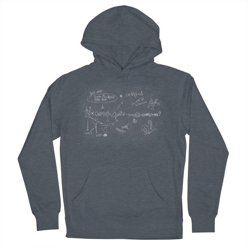 Christmas Equation Men's French Terry Pullover Hoody by 9th Mountain Threads