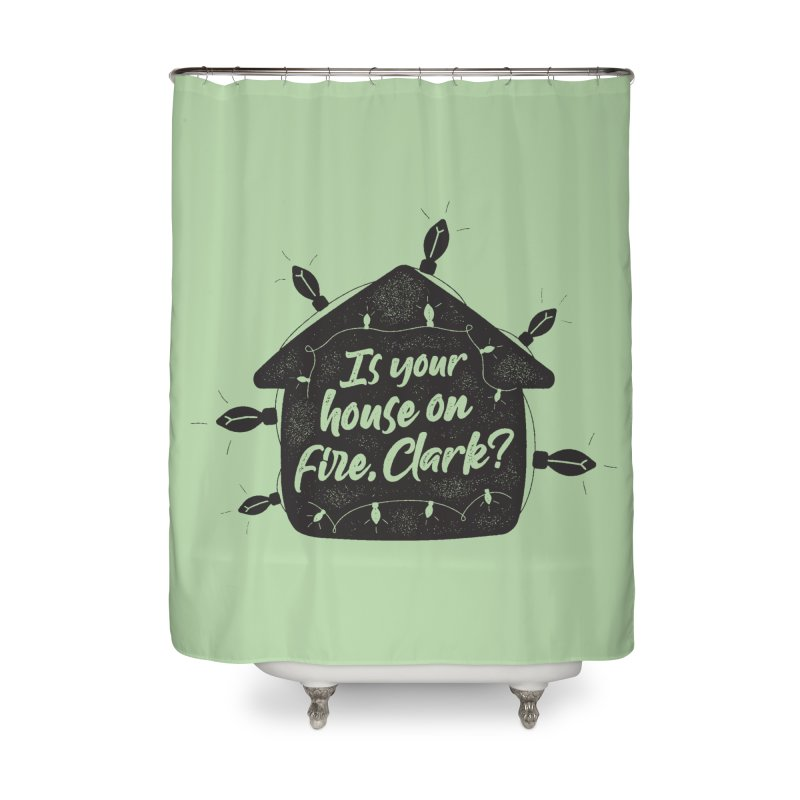 Aunt Bethany Home Shower Curtain by 9th Mountain Threads