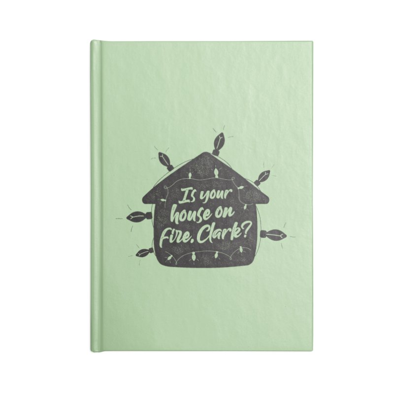 Aunt Bethany Accessories Blank Journal Notebook by 9th Mountain Threads