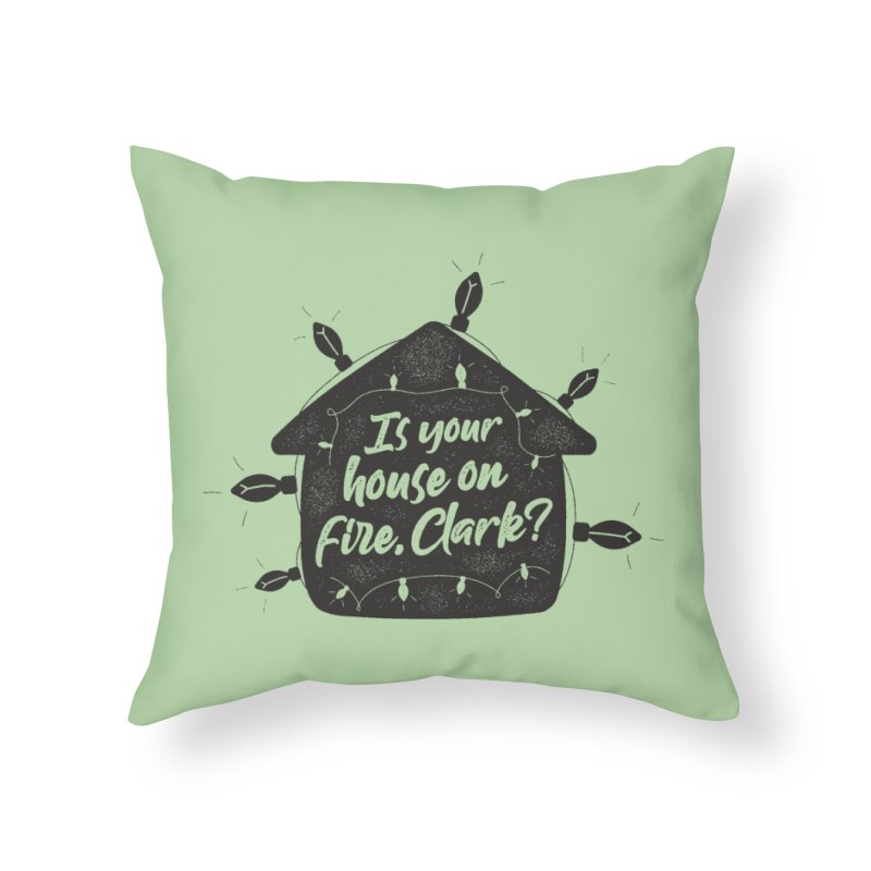 Aunt Bethany Home Throw Pillow by 9th Mountain Threads