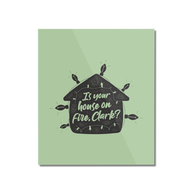 Aunt Bethany Home Mounted Acrylic Print by 9th Mountain Threads