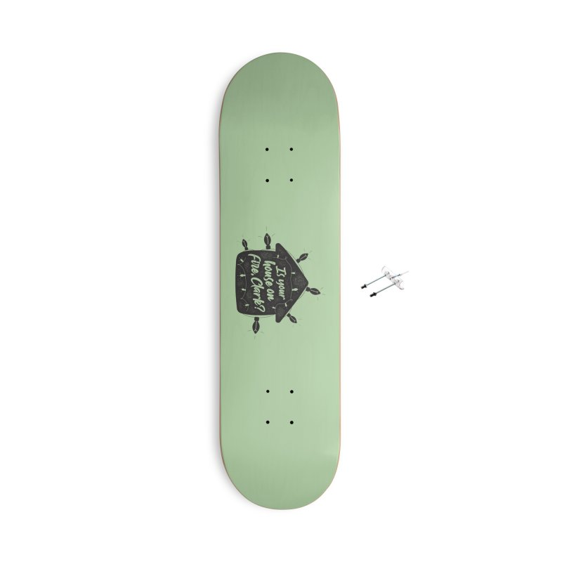 Aunt Bethany Accessories With Hanging Hardware Skateboard by 9th Mountain Threads