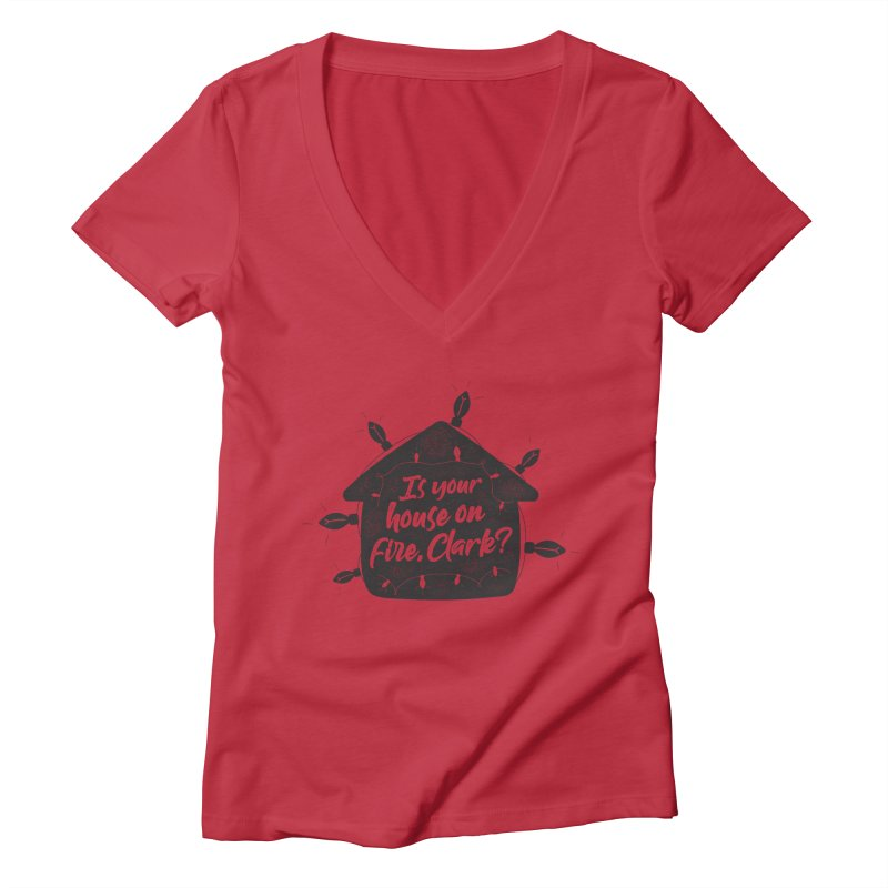 Aunt Bethany Women's Deep V-Neck V-Neck by 9th Mountain Threads