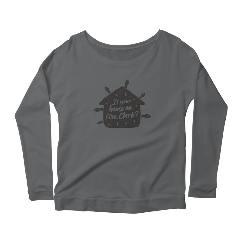 Aunt Bethany Women's Scoop Neck Longsleeve T-Shirt by 9th Mountain Threads