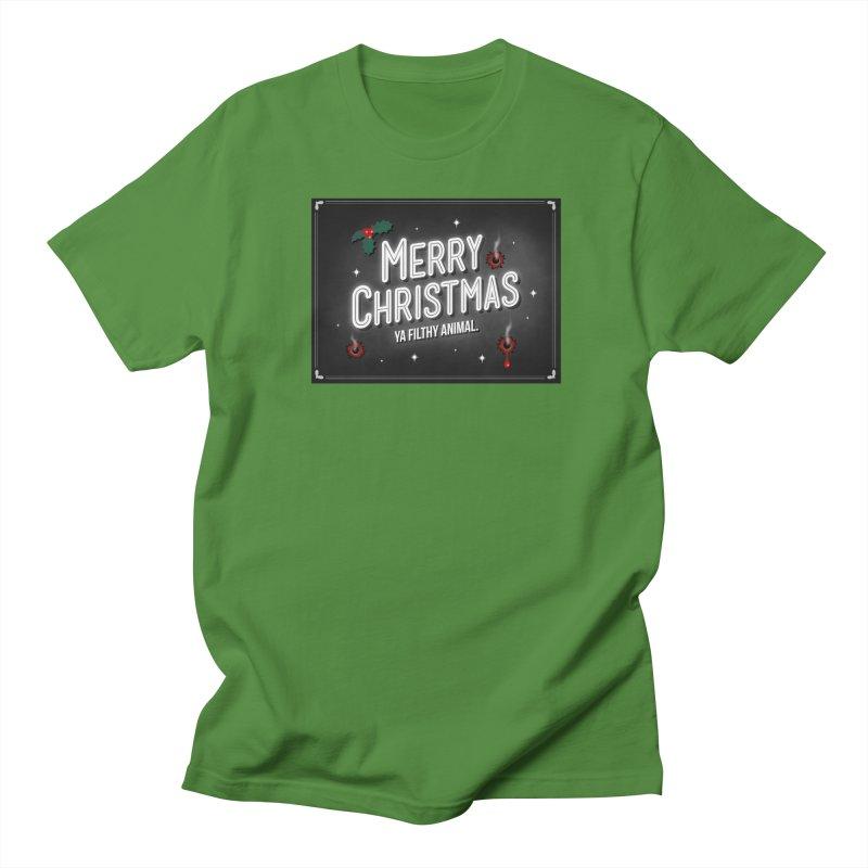Ya Filthy Animal Men's Regular T-Shirt by 9th Mountain Threads