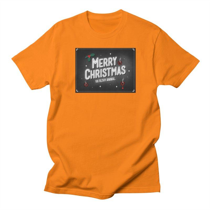 Ya Filthy Animal Women's Regular Unisex T-Shirt by 9th Mountain Threads