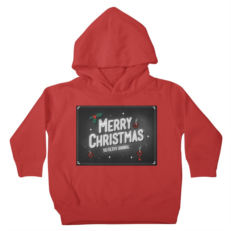 Ya Filthy Animal Kids Toddler Pullover Hoody by 9th Mountain Threads