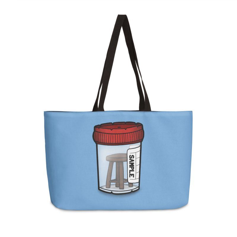 Stool Sample Accessories Weekender Bag Bag by 9th Mountain Threads