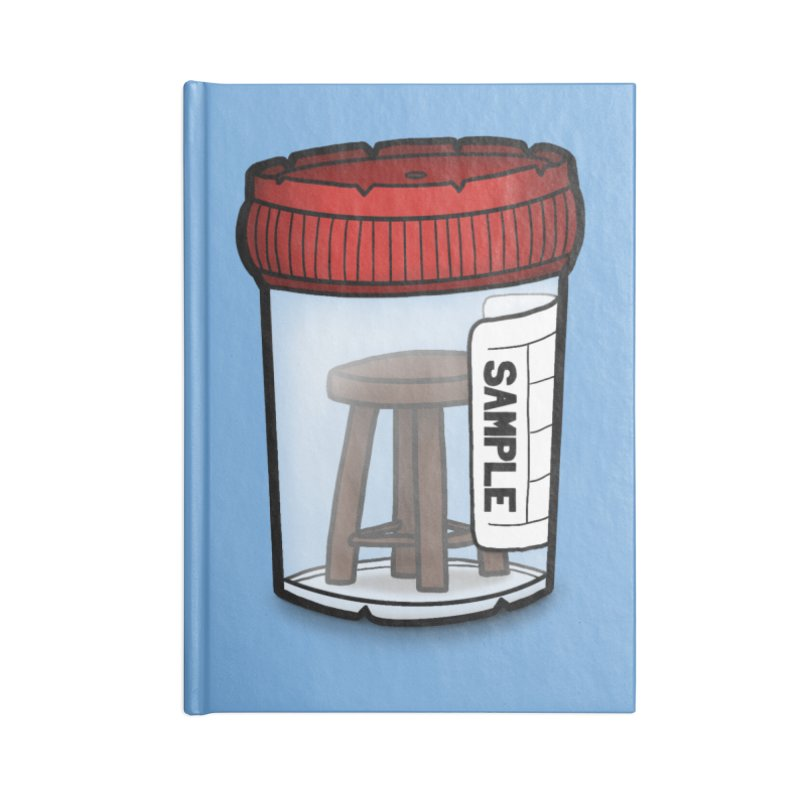 Stool Sample Accessories Blank Journal Notebook by 9th Mountain Threads