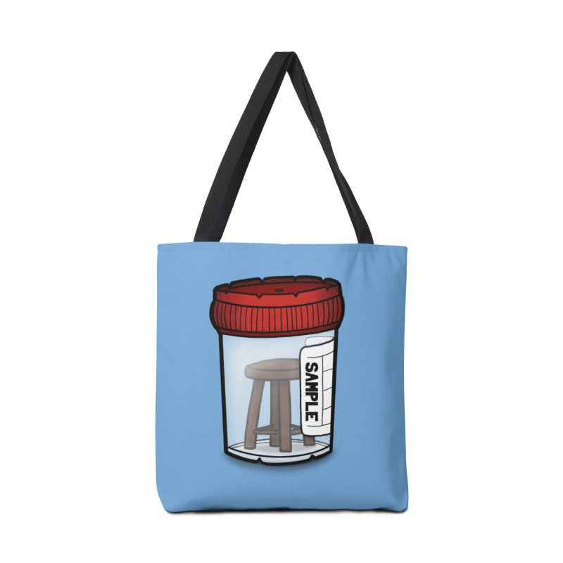 Stool Sample Accessories Tote Bag Bag by 9th Mountain Threads