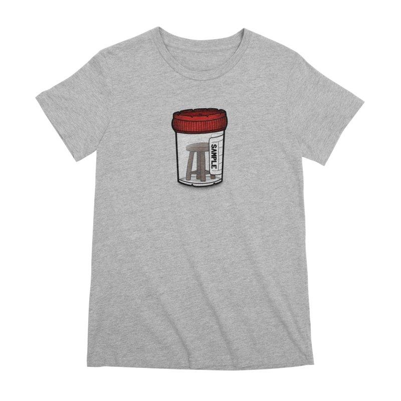 Stool Sample Women's Premium T-Shirt by 9th Mountain Threads