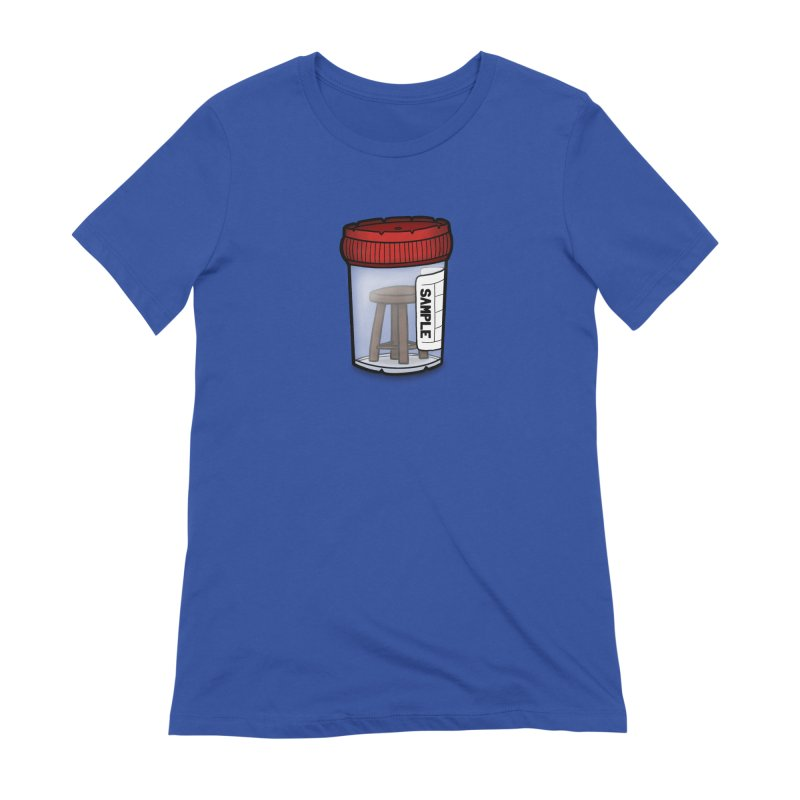 Stool Sample Women's Extra Soft T-Shirt by 9th Mountain Threads