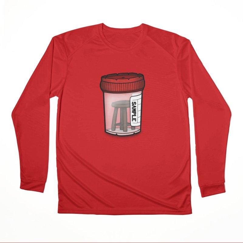 Stool Sample Men's Performance Longsleeve T-Shirt by 9th Mountain Threads