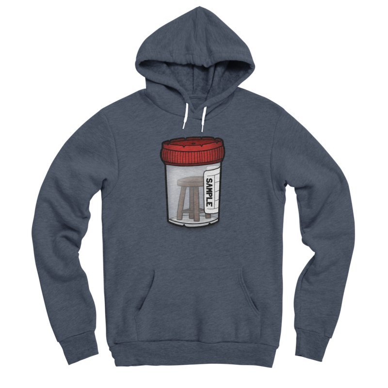Stool Sample Men's Sponge Fleece Pullover Hoody by 9th Mountain Threads