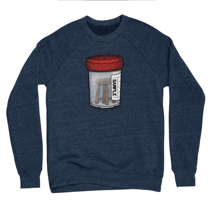 Stool Sample Men's Sponge Fleece Sweatshirt by 9th Mountain Threads