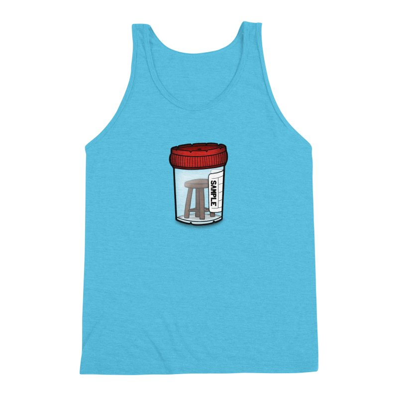 Stool Sample Men's Triblend Tank by 9th Mountain Threads