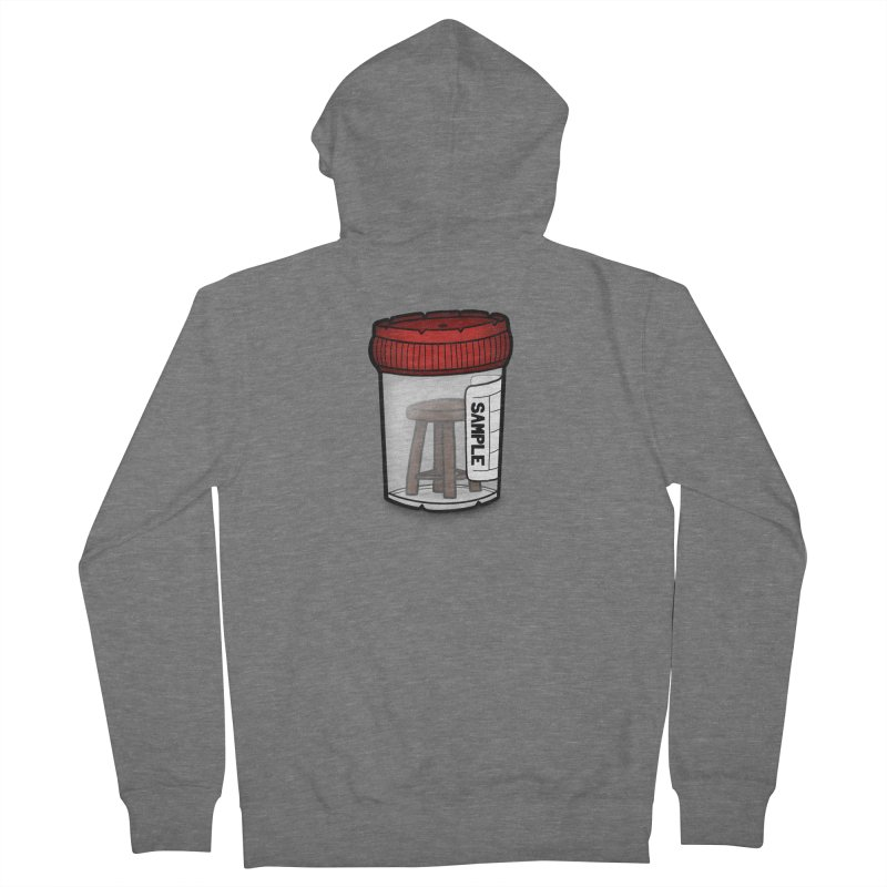 Stool Sample Men's French Terry Zip-Up Hoody by 9th Mountain Threads