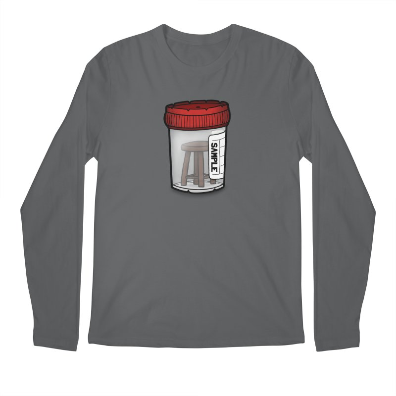 Stool Sample Men's Longsleeve T-Shirt by 9th Mountain Threads