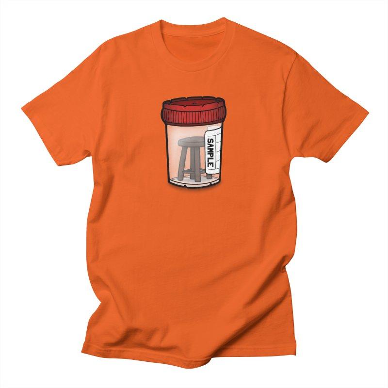 Stool Sample Men's Regular T-Shirt by 9th Mountain Threads