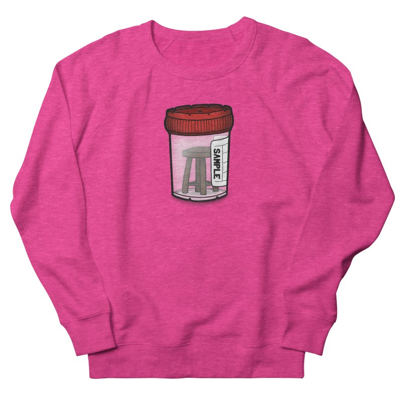 Stool Sample Women's French Terry Sweatshirt by 9th Mountain Threads
