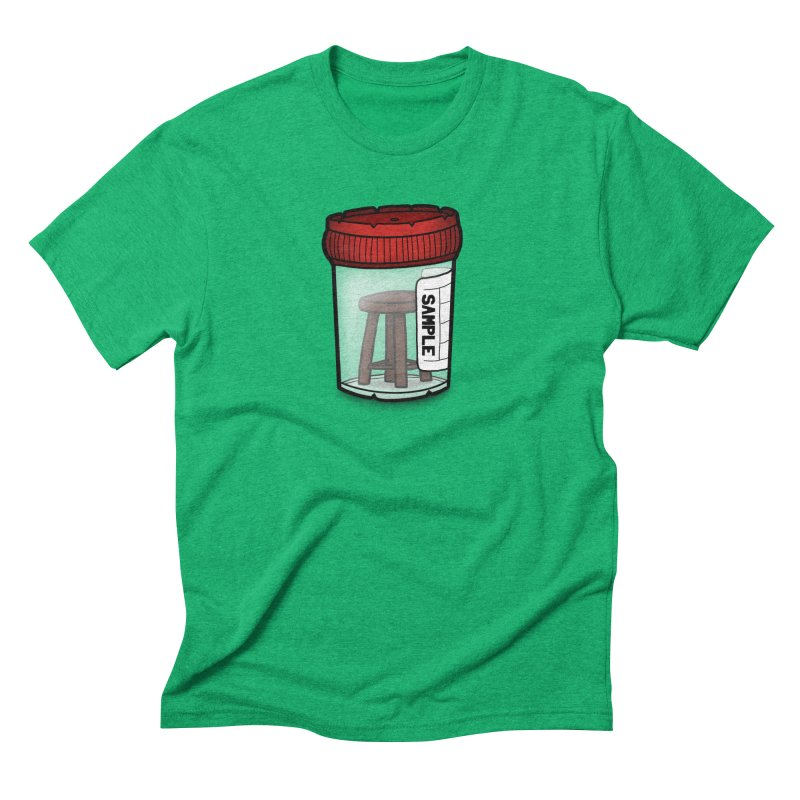 Stool Sample Men's Triblend T-Shirt by 9th Mountain Threads