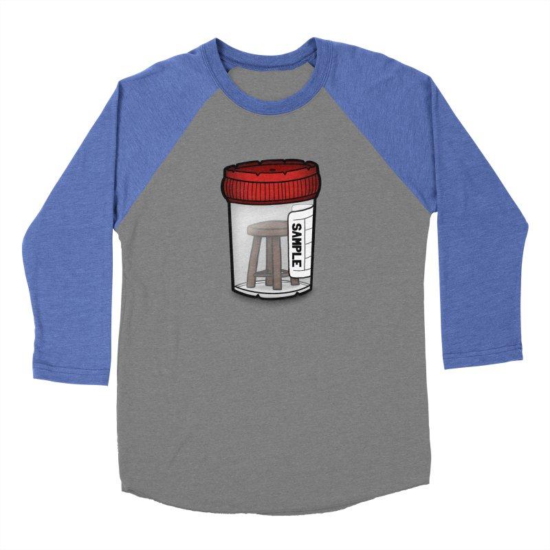 Stool Sample Women's Baseball Triblend Longsleeve T-Shirt by 9th Mountain Threads