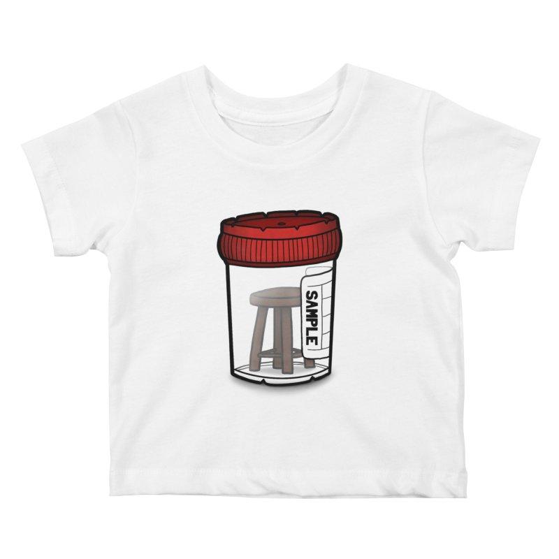 Stool Sample Kids Baby T-Shirt by 9th Mountain Threads