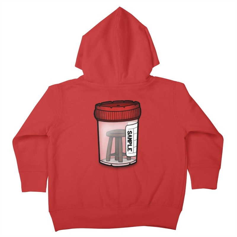 Stool Sample Kids Toddler Zip-Up Hoody by 9th Mountain Threads