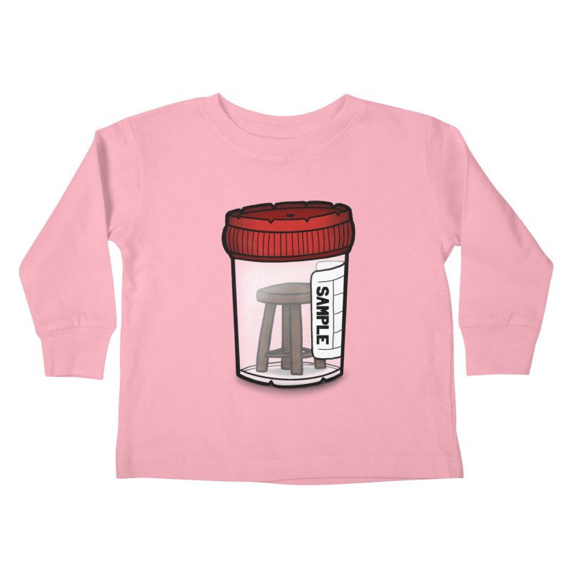 Stool Sample Kids Toddler Longsleeve T-Shirt by 9th Mountain Threads