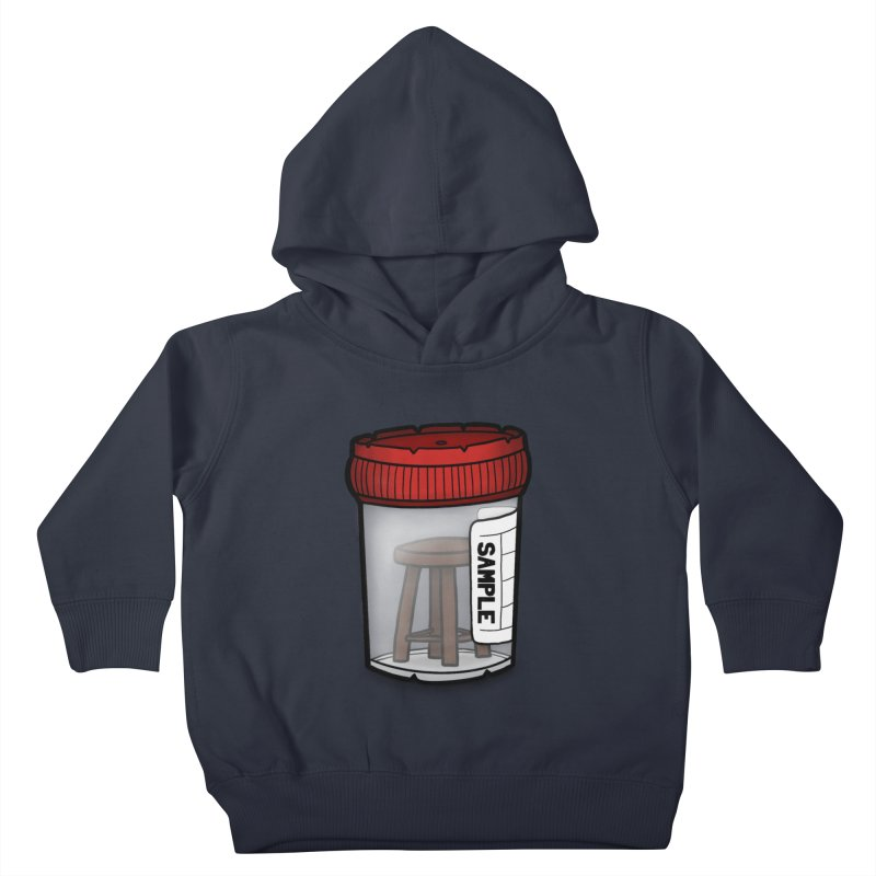 Stool Sample Kids Toddler Pullover Hoody by 9th Mountain Threads