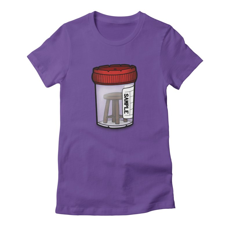 Stool Sample Women's Fitted T-Shirt by 9th Mountain Threads
