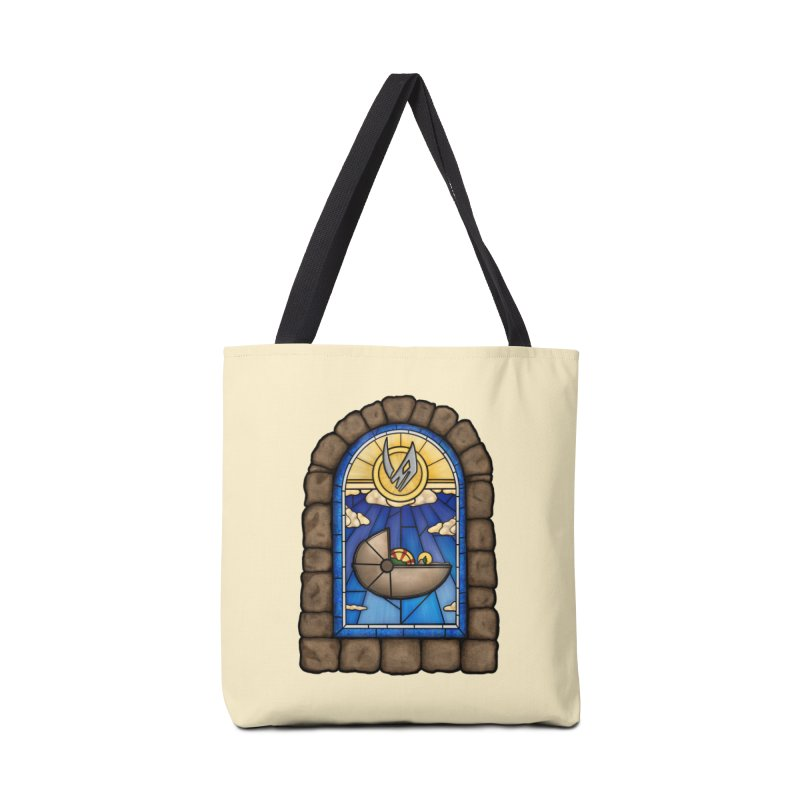 The Child Accessories Tote Bag Bag by 9th Mountain Threads