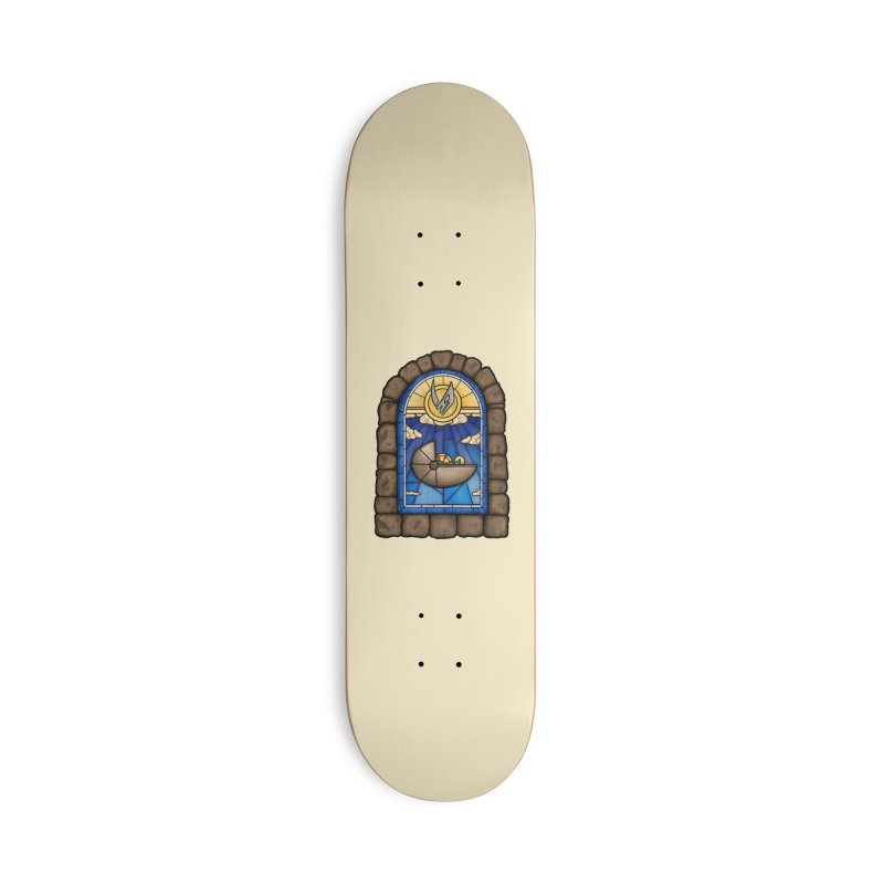 The Child Accessories Deck Only Skateboard by 9th Mountain Threads