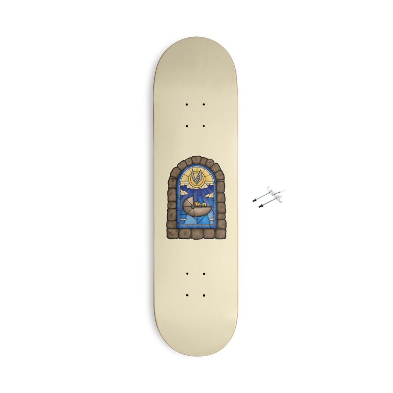 The Child Accessories With Hanging Hardware Skateboard by 9th Mountain Threads