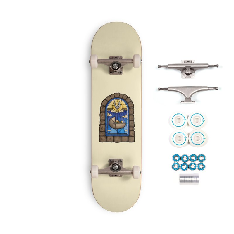 The Child Accessories Complete - Basic Skateboard by 9th Mountain Threads