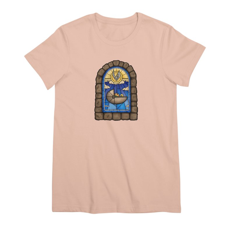 The Child Women's Premium T-Shirt by 9th Mountain Threads