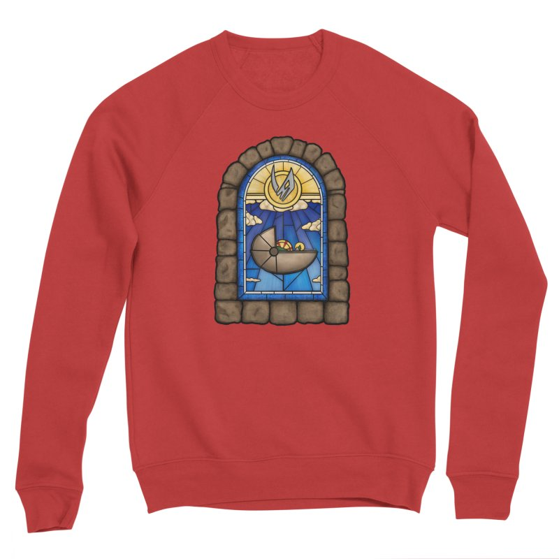 The Child Men's Sponge Fleece Sweatshirt by 9th Mountain Threads