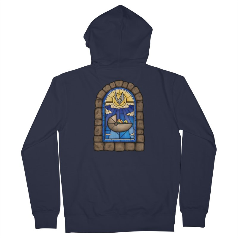 The Child Men's French Terry Zip-Up Hoody by 9th Mountain Threads