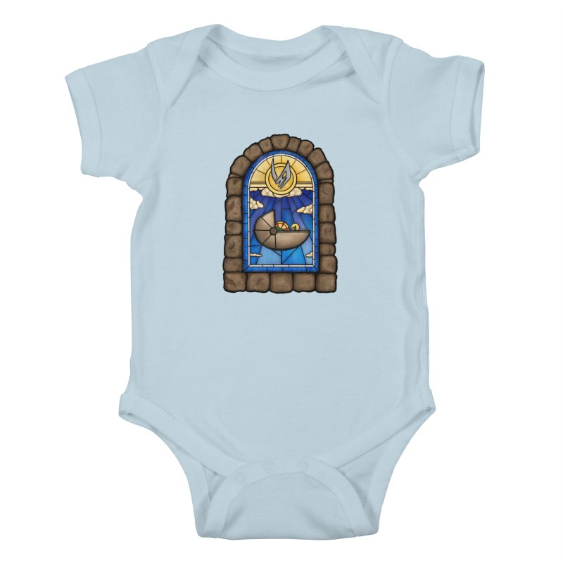The Child Kids Baby Bodysuit by 9th Mountain Threads
