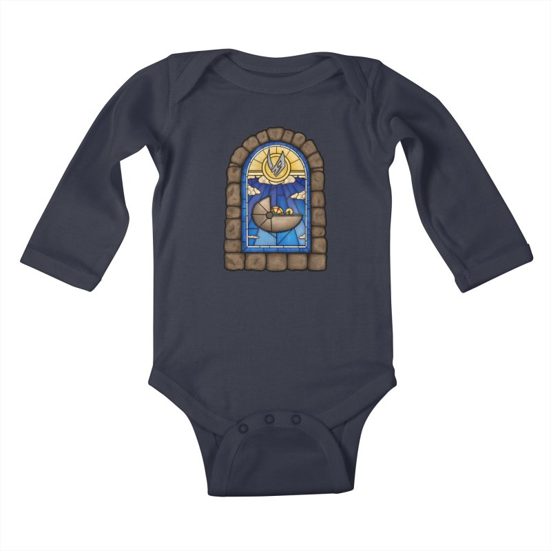 The Child Kids Baby Longsleeve Bodysuit by 9th Mountain Threads