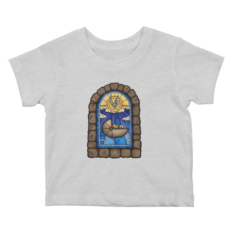 The Child Kids Baby T-Shirt by 9th Mountain Threads