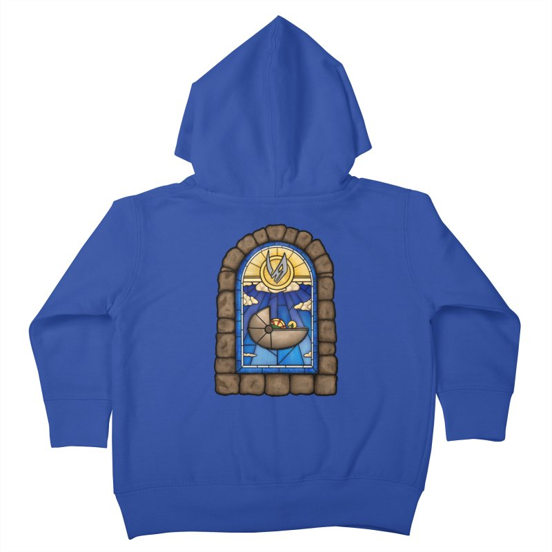 The Child Kids Toddler Zip-Up Hoody by 9th Mountain Threads