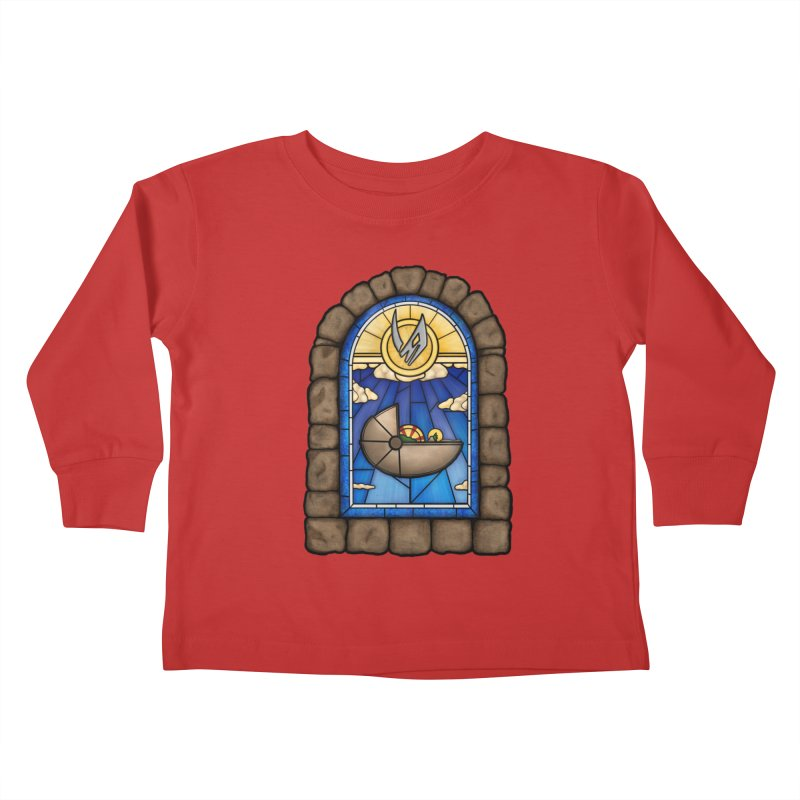 The Child Kids Toddler Longsleeve T-Shirt by 9th Mountain Threads