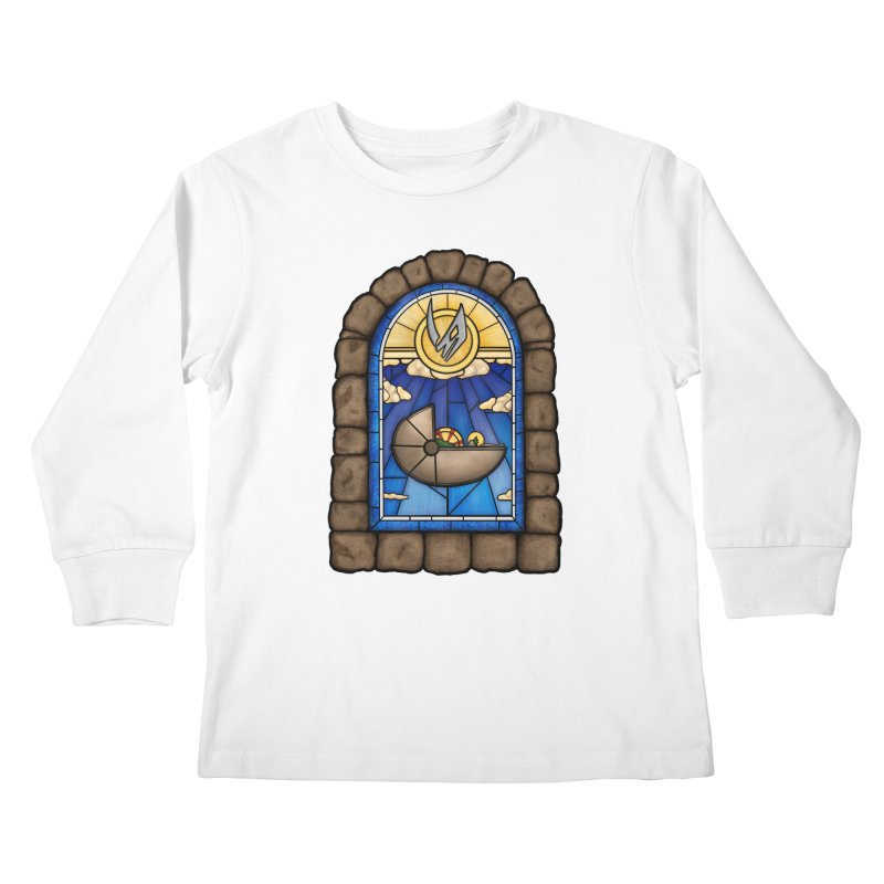 The Child Kids Longsleeve T-Shirt by 9th Mountain Threads