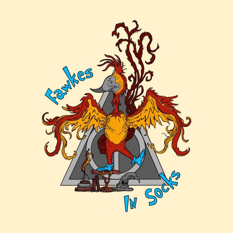 Fawkes in Socks Men's Longsleeve T-Shirt by 9th Mountain Threads