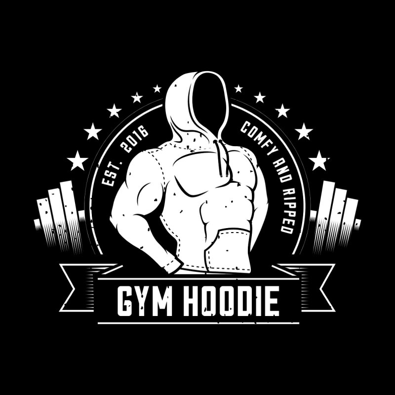 My Gym Hoodie   by 9th Mountain Threads