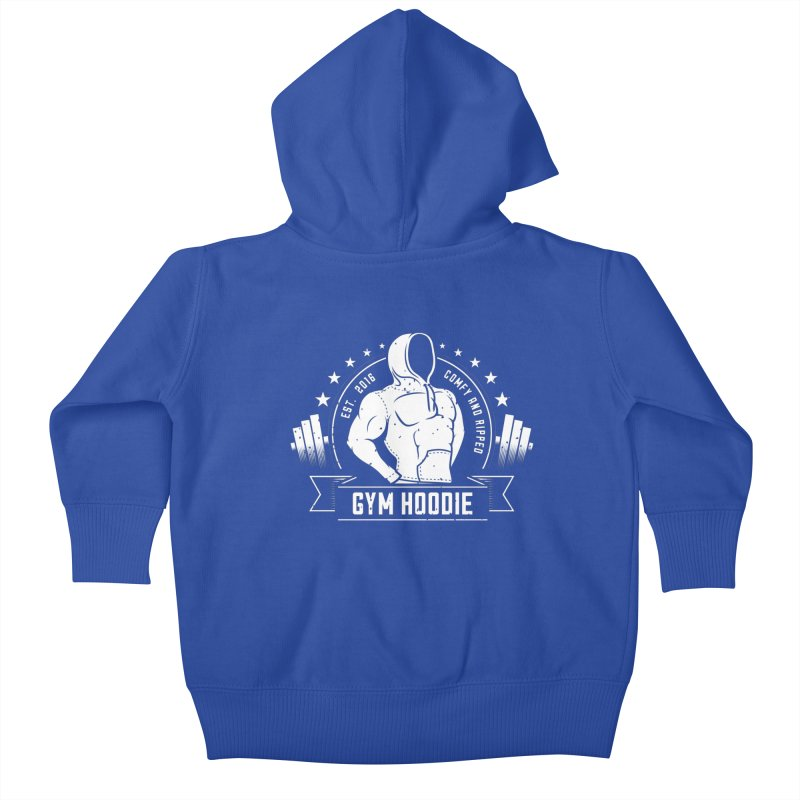 My Gym Hoodie Kids Baby Zip-Up Hoody by 9th Mountain Threads